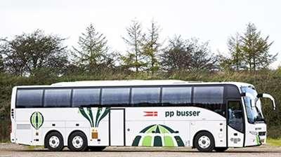 Turistbusser til rejser med bus for op til 50-53 personer