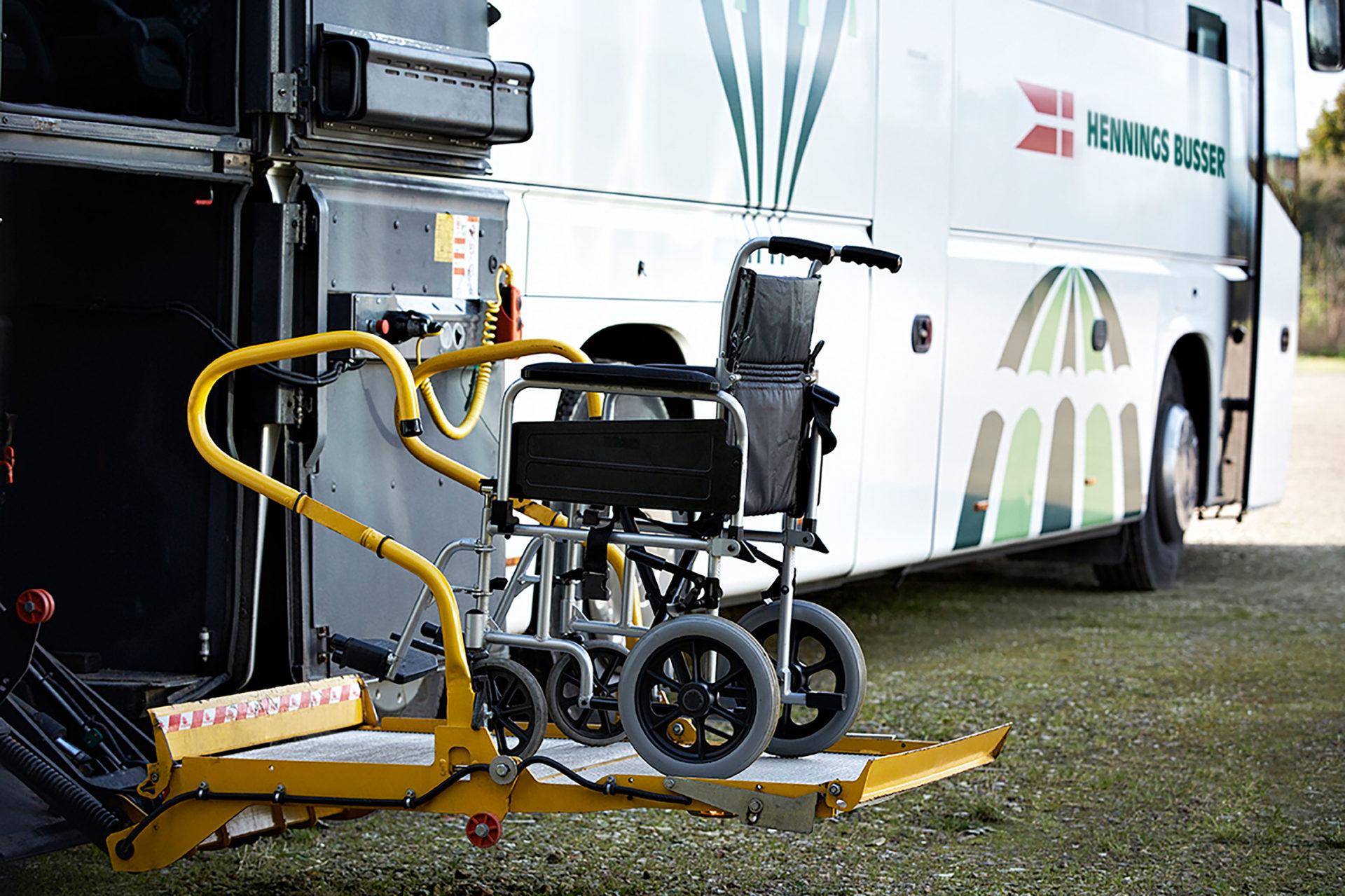 Handicapkørsel i hele Jylland